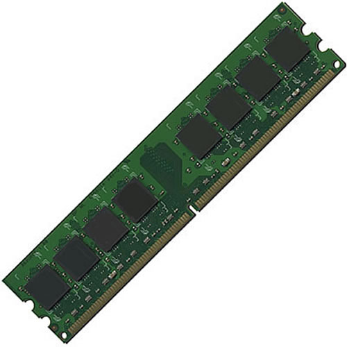 Kingston KW579C-ELF CMY 1GB 240p PC2-6400 CL6 9c 128x8 ECC DDR2-800 DIMM