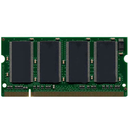 Gigaram COP 512MB 100p PC2100 CL2.5 8c 64x8 DDR266 SODIMM