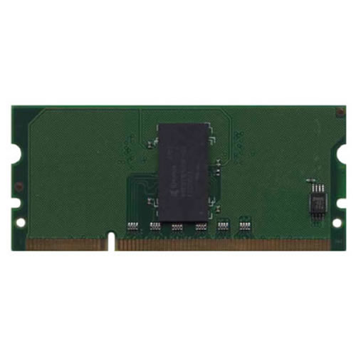 Micron/Gigaram GR64P1T3216-400-MP0D 64MB 144p PC2-3200 CL3 1c 32x16 DDR2-400 16-bit SODIMM CB421A PC