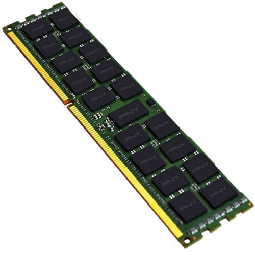 Gigaram  2GB 240p PC2-3200 CL3 18c 128x8 DDR2-400 2Rx8 ECC RDIMM