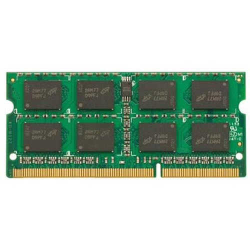 4GB 204p PC3-12800 CL11 16c 256x8 DDR3-1600 2Rx8 1.35V SODIMM NIB