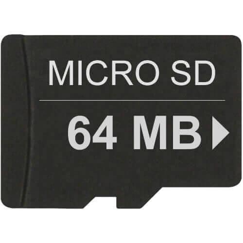 64MB 8p MSD Micro Secure Digital Card
