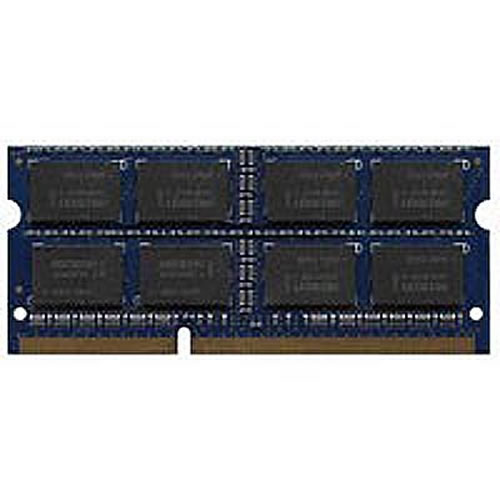 Micron MT16KTF51264HZ-1G4M1 4GB 204p PC3-10600 CL9 16c 256x8 DDR3-1333 2Rx8 1.35V  SODIMM