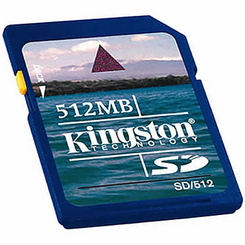 CSB 512MB SD Secure Digital Card Industrial Grade
