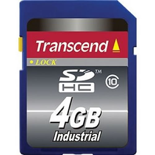 Gigaram CUA 4GB Industrial SDHC (Secure Digital) Card Class 10