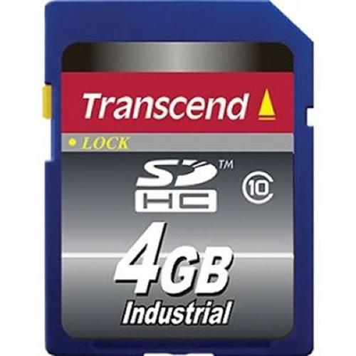 4GB 9p SDHC Secure Digital Card Industrial Grade