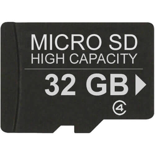 Gigaram  32GB 8p MSDHC Class 4 Micro Secure Digital High Capacity Card