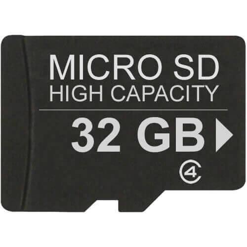 32GB 8p MSDHC Class 4 Micro Secure Digital High Capacity Card