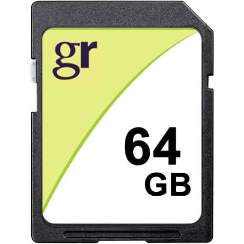 64GB 9p SDXC Class 4 Secure Digital Extended Capacity Card