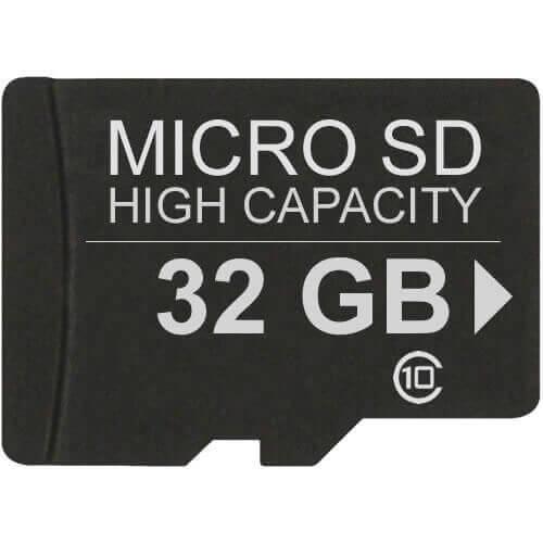 32GB 8p MSDHC r48MB/s w10MB/s Class 10 UHS-I Micro Secure Digital High Capacity Card w/SD adapter Re