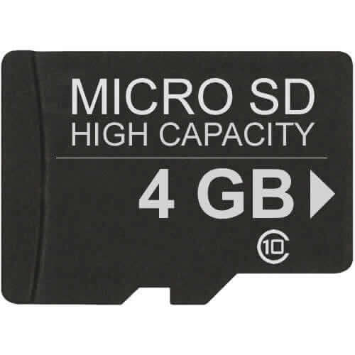 Gigaram  4GB 8p MicroSDHC micro Secure Digital High Capacity Card Class 10