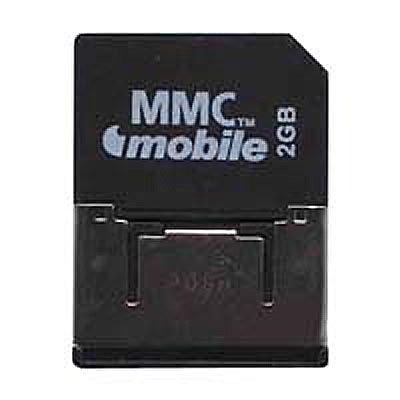 Gigaram CWF 2GB RSMMCDV Reduced Size MultiMedia MMC Mobile Dual Voltage Card
