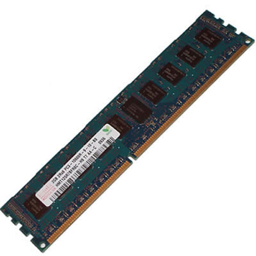 Hynix HMT351R7CFR8A-H9T3 4GB 240p PC3-10600 CL9 18c 256x8 DDR3-1333 2Rx8 1.35V ECC RDIMM W/Smart lab