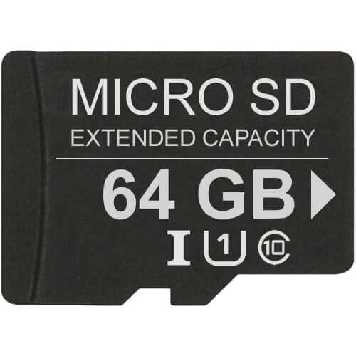 Gigaram CYV 64GB 8p MSDXC Class 4 Micro Secure Digital Extended Capacity Card