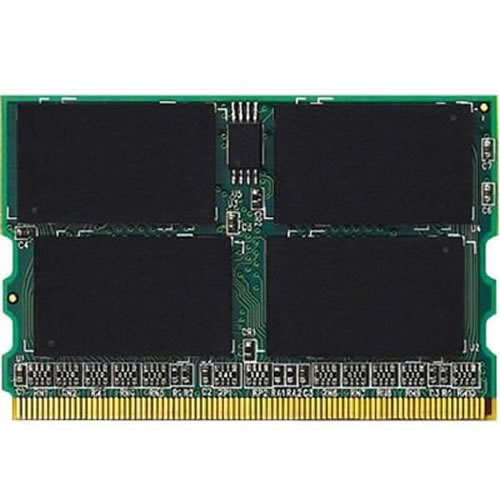Samsung/Gigaram GR1GM16T648-533-SP1Q 1GB 172p PC2-4200 CL4 16c 64x8 DDR2-533 microDIMM