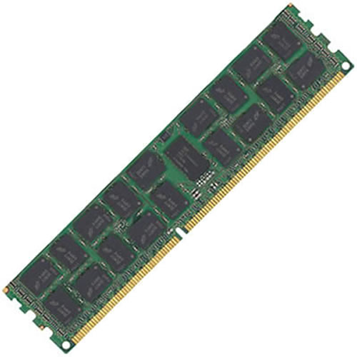Samsung M393B1K73DH0-YF8 8GB 240p PC3-8500 CL7 36c 256x8 DDR3-1066 4Rx8 1.35V ECC RDIMM W/Dell Label