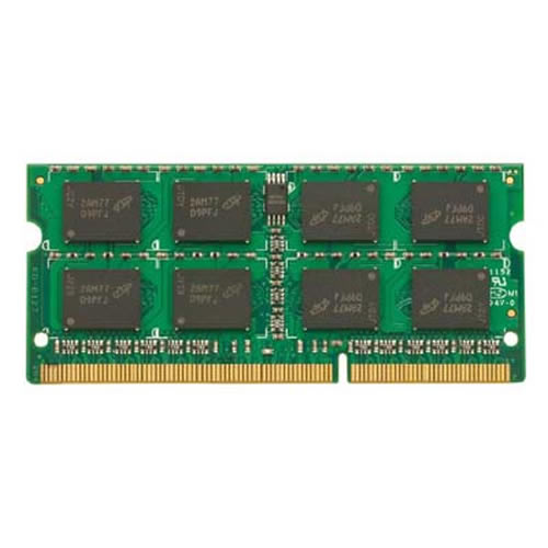 Gigaram  8GB 204p PC3-12800 CL11 16c 512x8 DDR3-1600 2Rx8 1.5V SODIMM