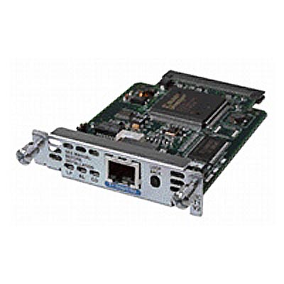 Cisco 1-port T1/fractional-T1 DSU/CSU WAN interface card
