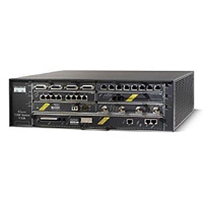 Cisco CISCO7204VXR 4-slot chassis, network processing engine NPE-300, I/O controller C7200-I/O-FE/E,