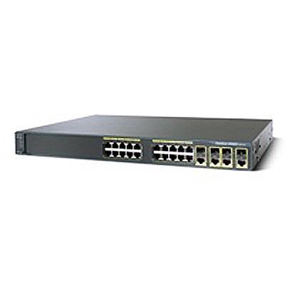 Cisco Catalyst 2960G 24 10/100/1000 + 4 RJ-45 LAN Base Uplink Switch