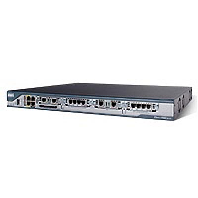 Cisco 2801 Router - 4 x Expansion Slot , 2 x PVDM - 2 x 10/100B Base System Used