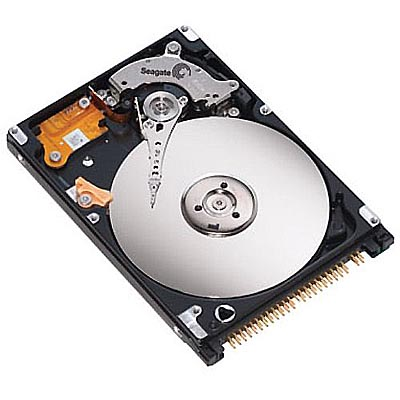 100GB IDE ATA100 5400RPM 2.5in x 9.5mm 44p 100MB/s HDD Refurbished