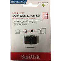SanDisk 128GB Ultra SDDD2-128G-GAM46 USB 3.0 OTG Dual Flash Drive