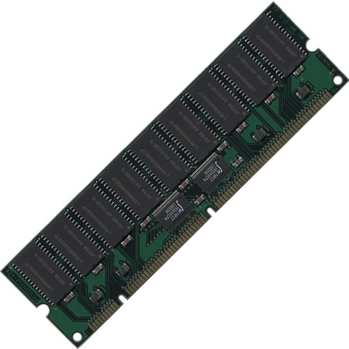 64MB EDO 168 pin DIMM 5V 2K buffered