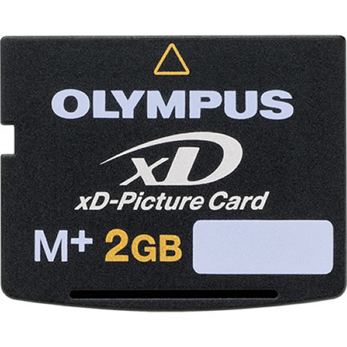 2GB xD Picture Card M Plus Type Olympus 202249 or MXD2GMP