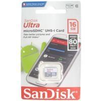 SanDisk 16GB Ultra SDSQUNS-016G-GN3MN microSDHC Memory Card C10 UHS-I