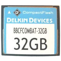 Delkin 32GB BBCFCOMBAT-32GB-DK CF Card 533X Bulk Refurbished