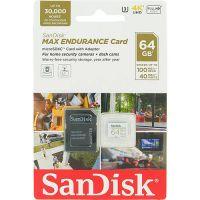 SanDisk 64GB Max Endurance SDSQQVR-064G-GN6IA microSDXC Memory Card C10 U3 V30 UHS-I