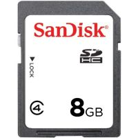 Sandisk 8GB SDSDAA-008G SDHC Secure Digital Card 15MB/s Class 4 Bulk Limited Stock