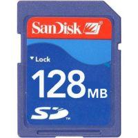 Sandisk 128MB SDSDB-128 or SDSDJ-128 SD Secure Digital Card