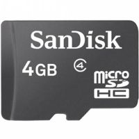 Sandisk 4GB SDSDQM-004G microSDHC Card Class 4 UHS-I Limited Stock