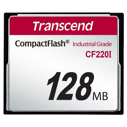 Transcend 128MB Industrial Temp CF Compact Flash Card SLC...