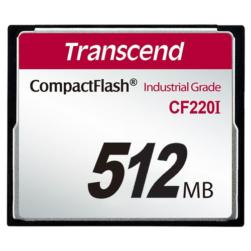 Transcend 512MB Industrial Temp CF Compact Flash Card SLC...