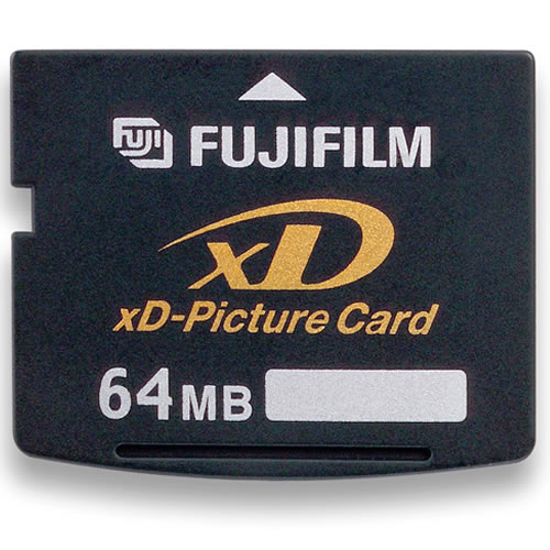 Fuji 64MB xD Picture Card Standard Type