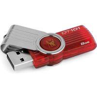 Kingston 8GB DataTraveler DT101G2/8GB Flash Drive USB 2.0 r10MB/s w5MB/s