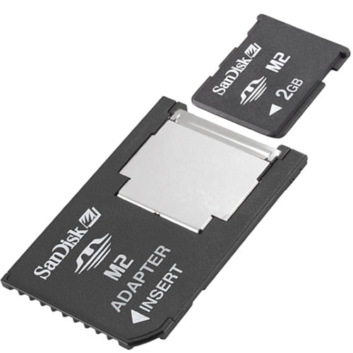Memory Stick M2 To Standard Ms Pro Duo Adapter