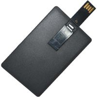 4GB Flash Drive USB 2.0 Credit Card flat design r12MB/s w4MB/s